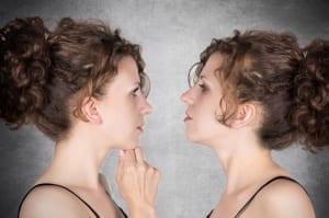 twin sisters - comparison